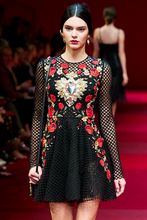 Dolce & Gabbana Spring 2015 Ready-to-Wear Collection x1