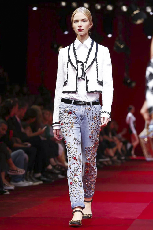 Dolce & Gabbana, Ready to Wear Spring Summer 2015 Collection in Milan