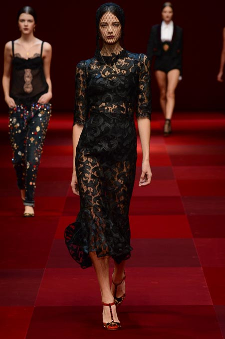 Dolce & Gabbana Spring 2015 Ready-to-Wear Collection x3