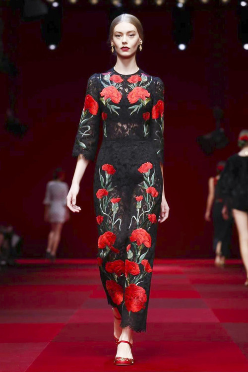 Dolce & Gabbana Spring 2015 Ready-to-Wear Collection x8
